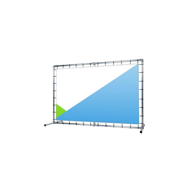 Ściana prezentacyjna prosta 250 cm x 200 cm