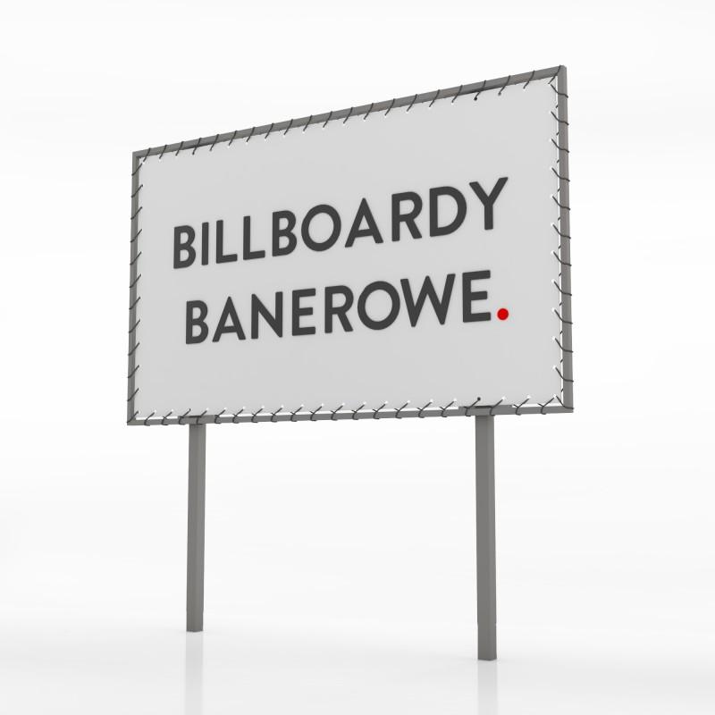Billboard banerowy - 300x200 cm