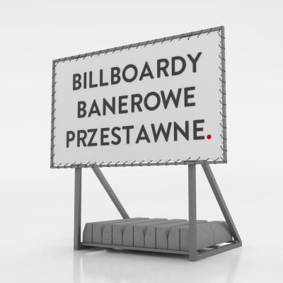 Billboard banerowy przestawny - 300x200