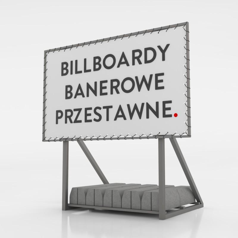 Billboard banerowy przestawny - 500x250