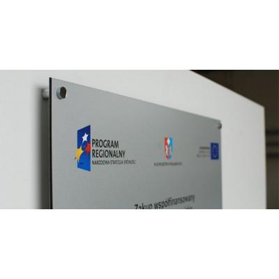 Tablica Unijna PCV 5 mm 120x80 cm